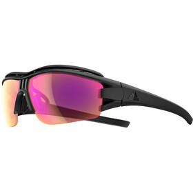 adidas Evil Eye Halfrim Pro Glasses L, black matt/lst bright